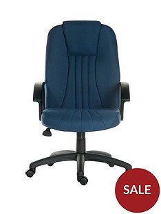 teknik-office-preston-fabric-office-chair-blue