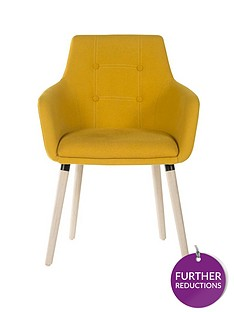 teknik-office-eve-4-legged-office-chair-yellow
