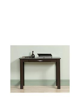 Product photograph showing Teknik Office Oliver Writing Table