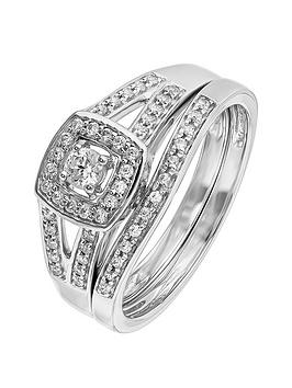 love-diamond-sterling-silver-rhodium-plated-34-point-diamond-bridal-set