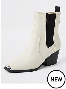 river-island-metal-toe-western-boot-beige