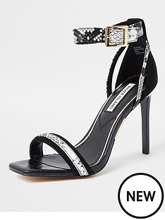 river-island-snake-detail-barely-there-sandal-black