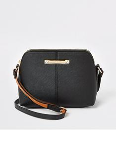 river-island-small-branded-cross-body-bag-black
