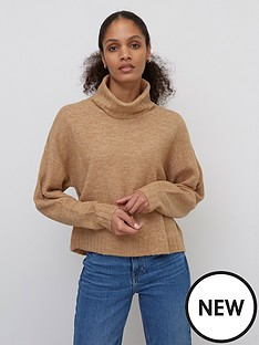 nobodys-child-roll-neck-jumper-camel