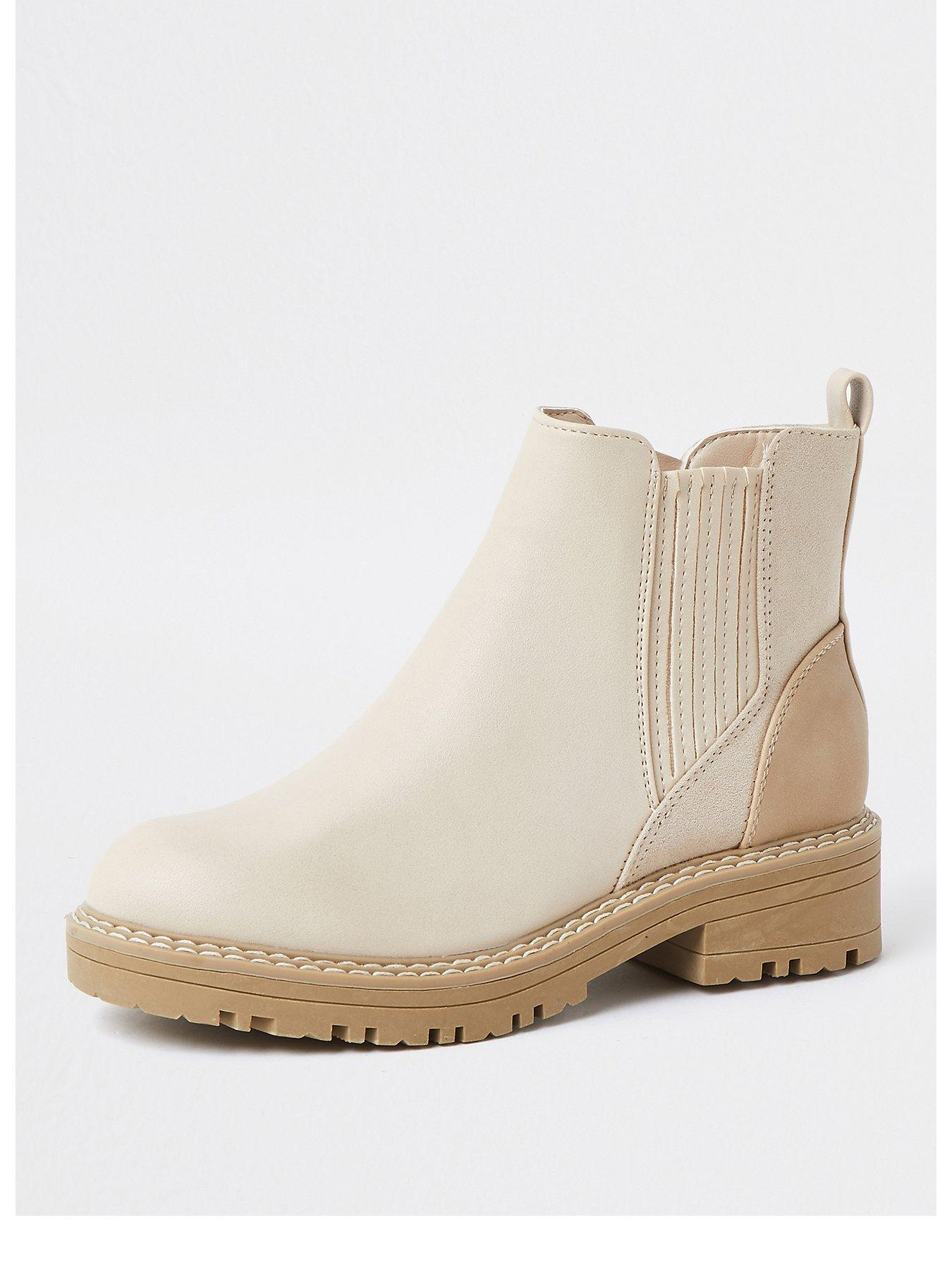 River Island Chunky Sole Chelsea Boot