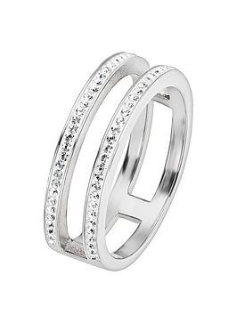 evoke-rhodium-plated-silver-clear-swarovski-crystal-double-band-ring