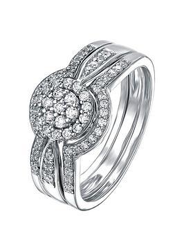 love-diamond-9ct-white-gold-38-point-diamond-trilogy-bridal-set
