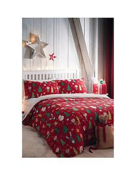 bedlam-elf-and-santa-single-christmas-duvet-cover-set
