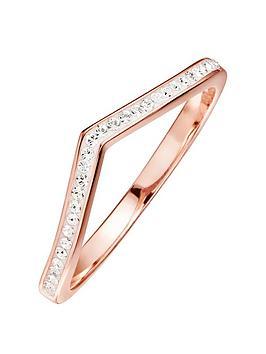 evoke-rose-gold-plated-sterling-silver-clear-swarovski-crystals-wishbone-ring