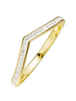 evoke-gold-plated-sterling-silver-clear-swarovski-crystals-wishbone-ring