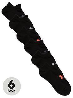 under-armour-womens-essential-no-show-socks-black