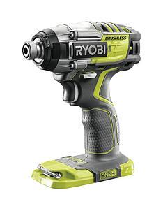 ryobi-r18idbl-0-18v-one-cordless-4-mode-brushless-impact-driver-bare-tool