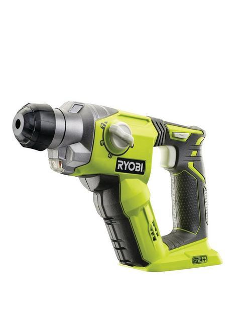 ryobi-r18sds-0-18v-one-cordless-3-mode-sds-drill-bare-tool