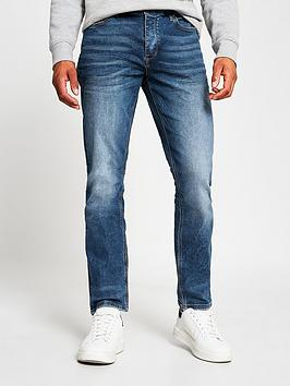 river-island-slim-fit-jeans-blue