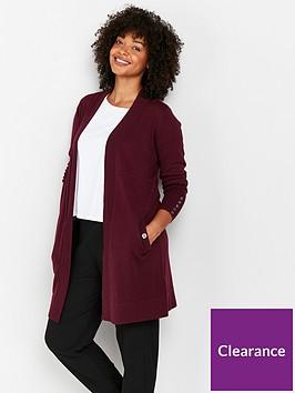 wallis-wool-blend-seam-cardigan