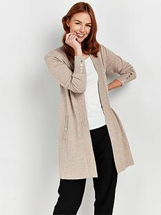 wallis-wool-blend-cardigan-stone