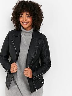 wallis-darcey-biker-jacket-black