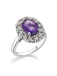 love-diamond-9ct-white-gold-25ct-amethyst-and-diamond-cocktail-ring