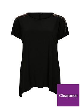 evans-hanky-hem-jersey-top-black