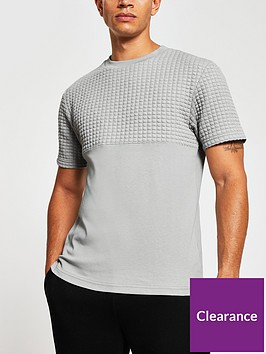 river-island-quilted-t-shirt-greynbsp