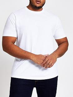 river-island-plus-regular-t-shirt-white