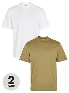 river-island-2-pack-slim-fit-high-neck-t-shirt-multi