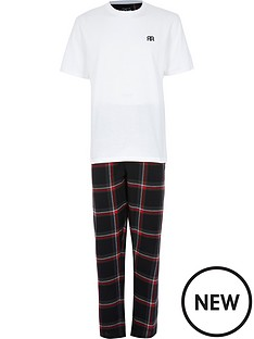 river-island-pyjama-set-red-checknbsp