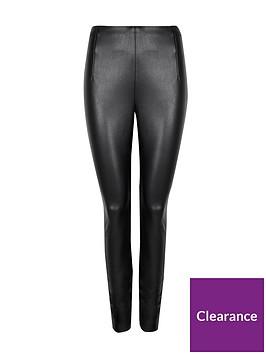 wallis-faux-leather-pu-leggings-black