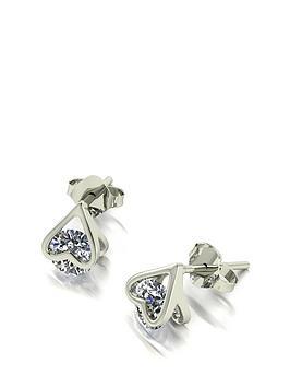 moissanite-9ct-white-gold-120ct-total-heart-earrings