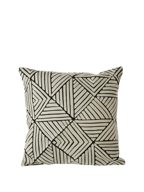 premier-housewares-bosie-ozella-triangle-cushion