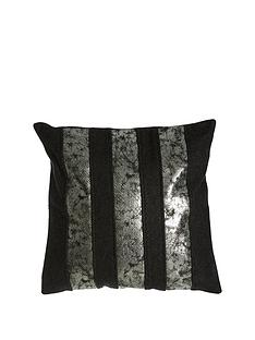 premier-housewares-kensington-townhouse-crush-cushion--nbspblack