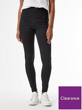 dorothy-perkins-short-length-frankie-jeans-blacknbsp