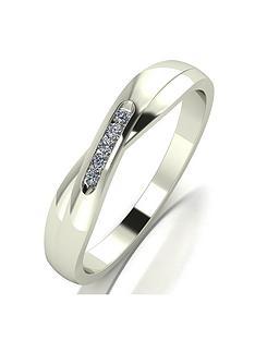 moissanite-9ct-white-gold-shaped-wedding-band