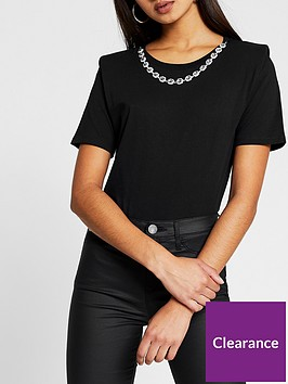river-island-necklace-chain-t-shirt-black