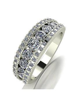 moissanite-9ct-white-gold-band-ring