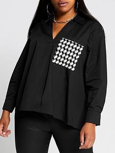 ri-plus-pocket-front-hybrid-shirt-black