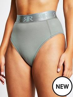 river-island-branded-waistband-knickers-khaki