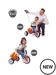 smoby-be-move-trike-pink