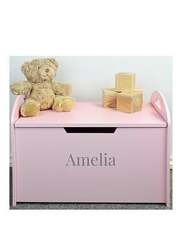 the-personalised-momento-co-personalised-pink-wooden-toy-chest