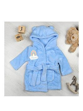 the-personalised-momento-co-personalised-rainbow-motif-blue-dressing-gown