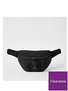 river-island-blocked-monogram-bumbag-blacknbsp