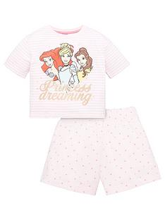 disney-princess-girls-disney-princess-stripe-princess-dreaming-shorty-pjs-pink