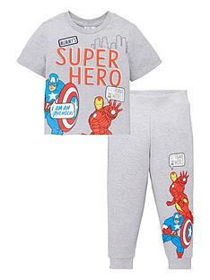 marvel-boys-marvel-2-piece-mummys-super-hero-t-shirt-amp-jogger-set-grey