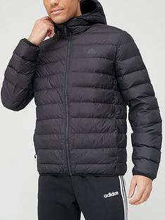 adidas-synthetic-hooded-jacket-black