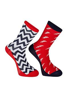 madison-sportive-long-sock-twin-pack-bolts-true-red-ink-navy