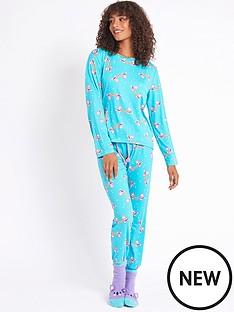 chelsea-peers-nyc-koala-pjs-with-sleepover-sack-blue