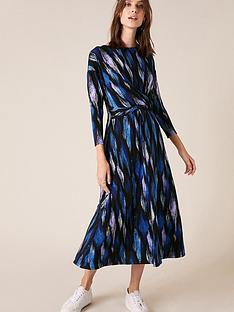 monsoon-geo-printed-midi-dress-blue
