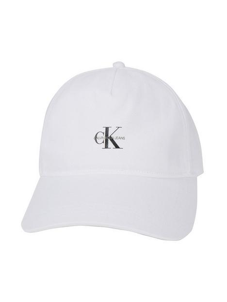 calvin-klein-jeans-logo-cap-white