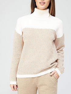 v-by-very-cheveron-roll-neck-knitted-jumper--nbspcolourblocknbsp