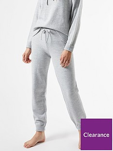 dorothy-perkins-lounge-knitted-joggers-grey